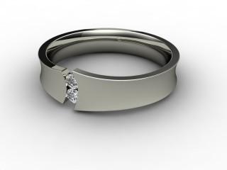 Multi Diamond Men's Ring in Platinum