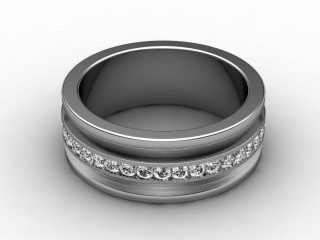 Multi Diamond Men's Ring in 18ct. White Gold-69-05021