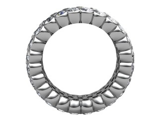 Multi Diamond Men's Ring in 18ct. White Gold