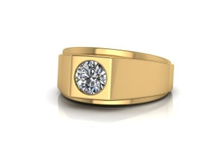 Signet Ring Men's Ring in 18ct. Yellow Gold-69-18033
