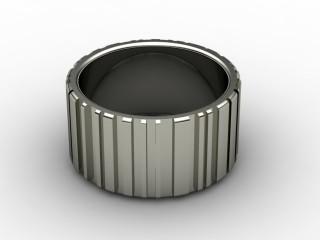 Designer Band Men's Ring in Palladium-69-66029
