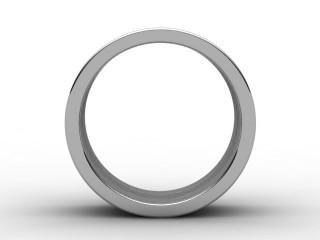 Designer Band Men's Ring in Palladium