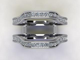 Diamonds 0.52cts. in Platinum