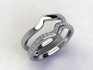 Diamonds 0.18cts. in Platinum