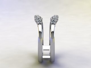 Diamonds 0.42cts. in Platinum