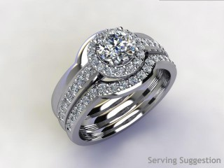Diamonds 0.19cts. in 18ct White Gold