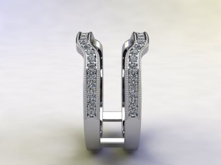Diamonds 0.52cts. in 18ct White Gold - 6