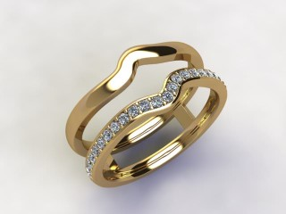 Diamonds 0.18cts. in 18ct Yellow Gold