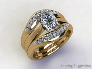 Diamonds 0.38cts. in 18ct Yellow Gold - 3