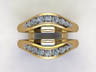 Diamonds 0.38cts. in 18ct Yellow Gold - 9