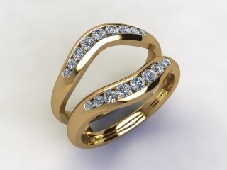 Diamonds 0.38cts. in 18ct Yellow Gold - 12