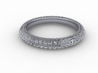 Full Diamond Eternity Ring 1.30cts. in Platinum