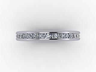 Full Diamond Eternity Ring 0.78cts. in Platinum