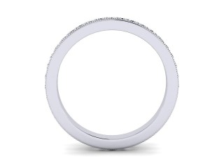 Full Diamond Eternity Ring 0.65cts. in Platinum