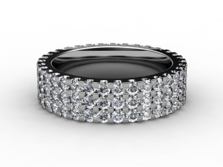 Full Diamond Eternity Ring 1.87cts. in Platinum-88-01066