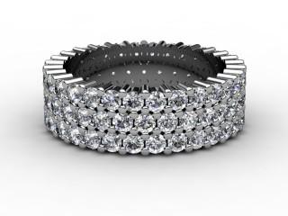 Full Diamond Eternity Ring 2.70cts. in Platinum-88-01070