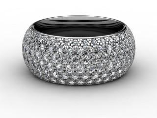 Full Diamond Eternity Ring 2.16cts. in Platinum-88-01071
