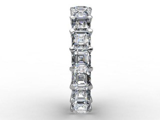 Full Diamond Eternity Ring 4.44cts. in Platinum - 6