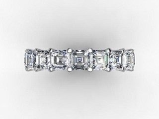 Full Diamond Eternity Ring 4.44cts. in Platinum - 9