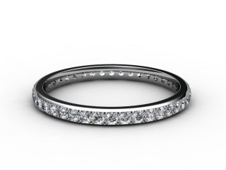 Full Diamond Eternity Ring 0.40cts. in Platinum-88-01084