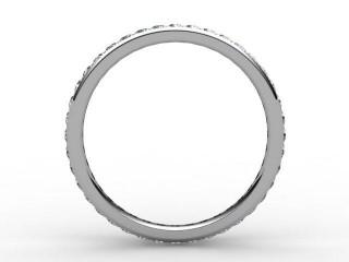 Full Diamond Eternity Ring 0.40cts. in Platinum