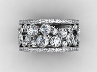 Full Diamond Eternity Ring 3.25cts. in Platinum