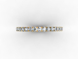 Full Diamond Eternity Ring 0.72cts. in Platinum