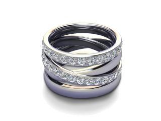 Full Diamond Eternity Ring 1.75cts. in Platinum-88-01123
