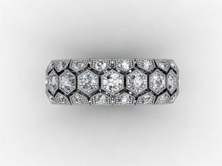 Full Diamond Eternity Ring 2.00cts. in Platinum