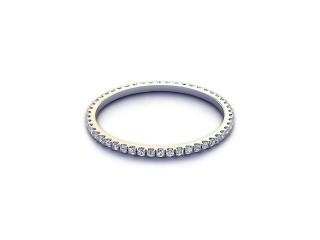 Full Diamond Eternity Ring 0.20cts. in Platinum-88-01521