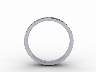 0.48cts. 3/4 Set Platinum Eternity Ring