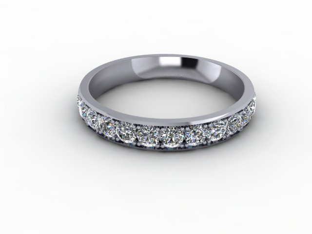 1.12cts. Full Platinum Eternity Ring