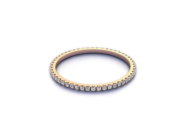 Full Diamond Eternity Ring 0.20cts. in 18ct. Rose Gold