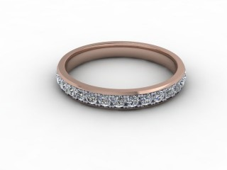 0.62cts. Full 18ct Rose Gold Eternity Ring-88-04719