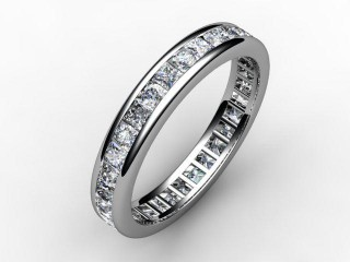 Full Diamond Eternity Ring 1.43cts. in 18ct. White Gold