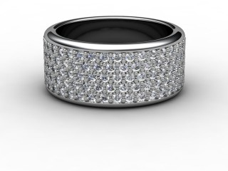 Full Diamond Eternity Ring 1.20cts. in 18ct. White Gold-88-05031