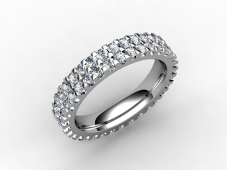 Full Diamond Eternity Ring 2.16cts. in 18ct. White Gold
