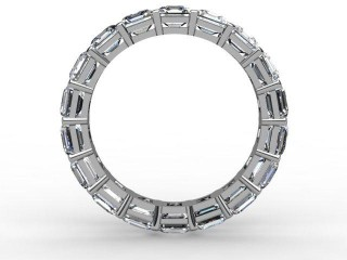 Full Diamond Eternity Ring 4.44cts. in 18ct. White Gold - 3