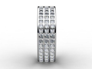 Full Diamond Eternity Ring 2.85cts. in 18ct. White Gold