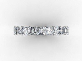 Full Diamond Eternity Ring 3.75cts. in 18ct. White Gold - 9
