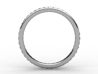 Full Diamond Eternity Ring 0.40cts. in 18ct. White Gold