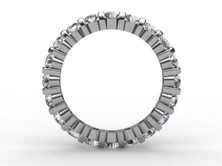 Full Diamond Eternity Ring 1.03cts. in 18ct. White Gold