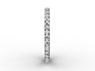 Full Diamond Eternity Ring 0.72cts. in 18ct. White Gold