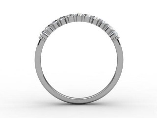 Half-Set Diamond Eternity Ring 0.22cts. in 18ct. White Gold - 3