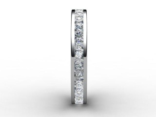 Full Diamond Eternity Ring 1.90cts. in 18ct. White Gold - 6