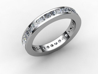 Full Diamond Eternity Ring 1.90cts. in 18ct. White Gold - 12