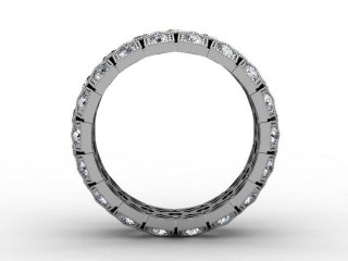 Full Diamond Eternity Ring 2.00cts. in 18ct. White Gold