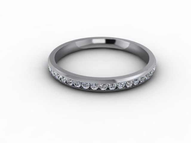 0.44cts. Full 18ct White Gold Eternity Ring