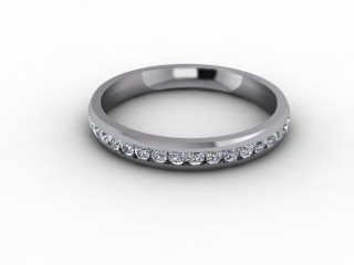 0.50cts. Full 18ct White Gold Eternity Ring-88-05715