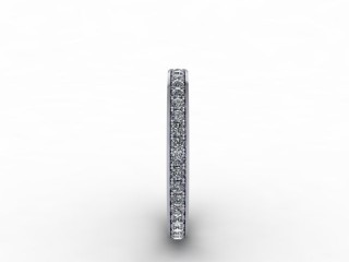 0.39cts. Full 18ct White Gold Eternity Ring